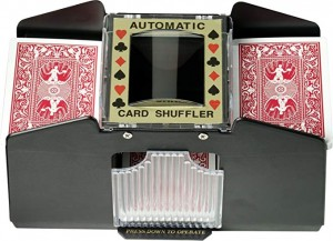 Fat Cat Poker/Casino Game Table Accessory: Automatic Playing Card Shuffler