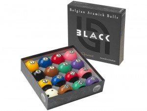 Aramith Tournament Black Ball set