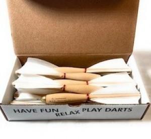 White American Prodart Wooden Darts 5 Box 60pc