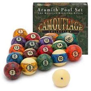 ARAMITH CAMOUFLAGE BALL SET