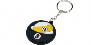 8/9 Rubber Key Chain
