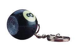 8 Ball Key Chain Scuffer