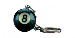 8 Ball Key Chain