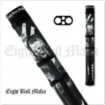 Eight Ball Mafia EBMC22B 2x2 Hard Cue Case