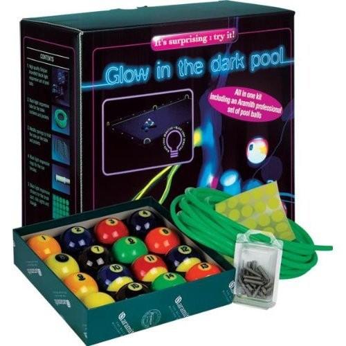 Aramith Glow in the Dark (Black Light) Billiard/Pool Ball Set