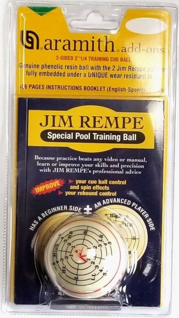 Aramith Jim Rempe IPREM Training Ball