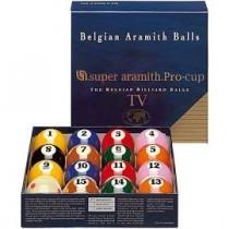 Super Aramith Pro Pool Balls Set Tv