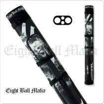Eight Ball Mafia EBMC22B 2x2 Hard Cue Case