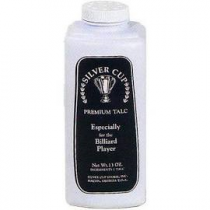 Silver Cup Billiard/Pool Premium Talc Powder, 13 Ounce Shaker Bottle