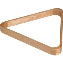 Snooker wooden triangle rack